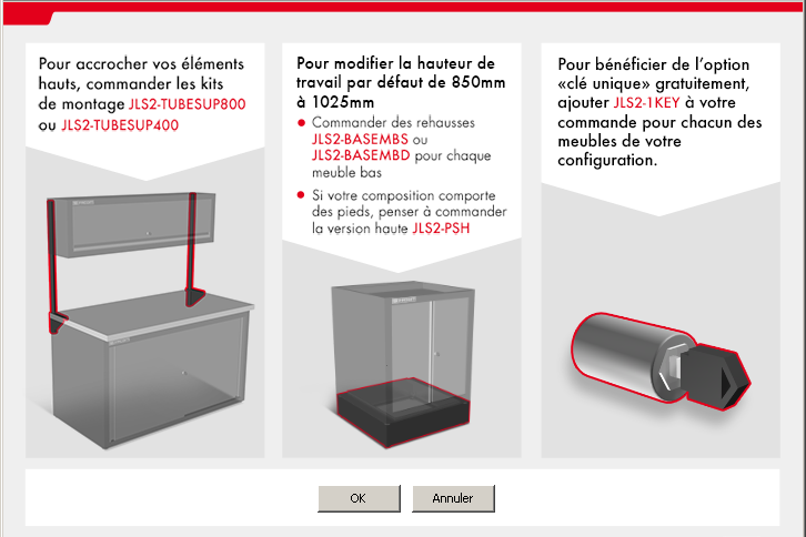 jetline plus configurateur options